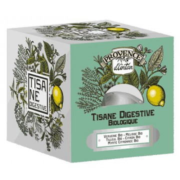Tisane be cube Digestive bio 24 sachets recharge carton - Provence d'Antan
