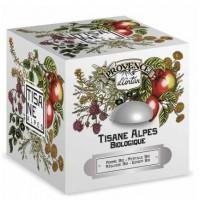 Tisane be cube des Alpes bio 24 sachets boite métal - Provence d'Antan