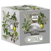 Provence d'Antan Tisane be cube 4 saveurs bio 24 sachets recharge carton - Aromatic provence