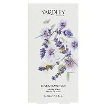 Coffret 3 savons English Lavender 3 x 100gr - Yardley