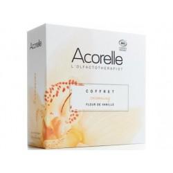 Coffret Cocooning Fleur de Vanille une eau de parfum 50ml - Roll on 10ml offert - Acorelle