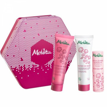 Coffret Hexagonal Nectar de Rose - Melvita