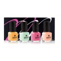 Coffret Mondebio Box vernis Ongles Pastel Candy Le Monde Du Bio
