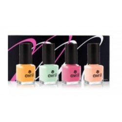 le monde du bio coffret mondebio box vernis ongles pastel candy. Black Bedroom Furniture Sets. Home Design Ideas