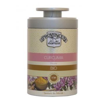Curcuma bio boîte métal 40g - Provence d'Antan