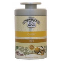 Curry doux bio boite métal 40 gr - Provence d Antan - Aromatic Provence