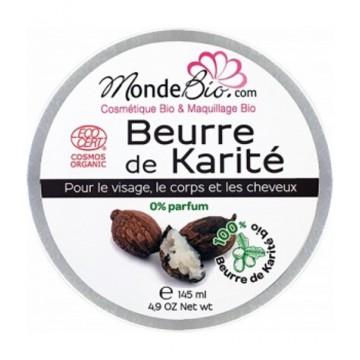 Beurre de Karité bio 145 gr - Monde bio