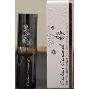 Boitier multifonction pour correcteur kajal rouge à lèvres - Couleur Caramel