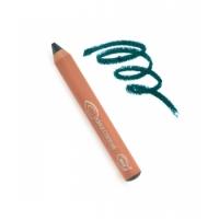 Crayon jumbo yeux n°49 Pétrole Un dimanche à Deauville - Couleur Caramel maquillage bio aromatic provence