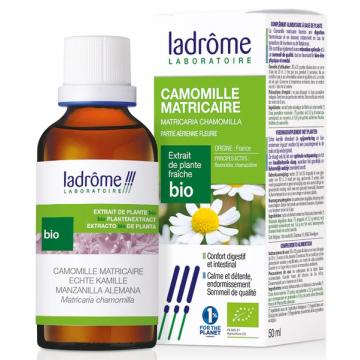 Camomille matricaire bio extrait de plantes fraiches 50ml - Ladrome