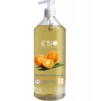 Bain douche Agrumes Mandarine Orange 1 L - C'BIO - bain douche bio Aromatic Provence