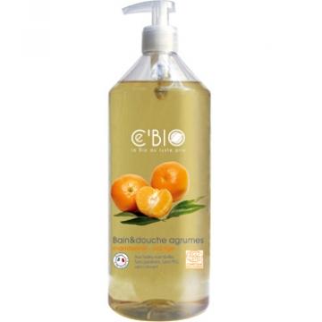 Bain douche Agrumes Mandarine Orange 1 L - C'BIO