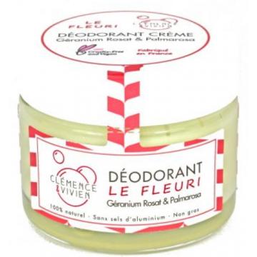 Baume déodorant Le Fleuri 50 gr - Clémence et Vivien