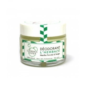 Baume déodorant L'Herbacé 50 gr - Clémence et Vivien
