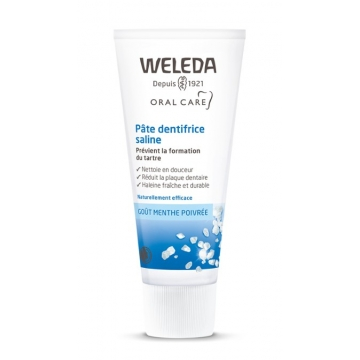 Pâte dentifrice saline anti tartre 75 ml - Weleda