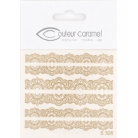Décalcomanies ongles modèle 2 - Couleur Caramel maquillage bio Aromatic Provence