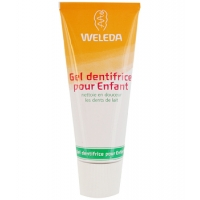 Weleda Gel dentifrice enfant dents de lait 50 ml, dentifrice bio enfant, aromatic Provence