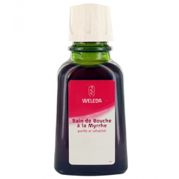 Bain de bouche à la Myrrhe 50 ml - Weleda