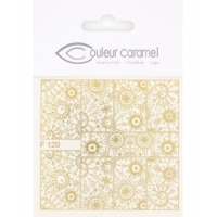 Couleur Caramel Décalcomanies ongles modèle 3 - maquillage bio Aromatic Provence