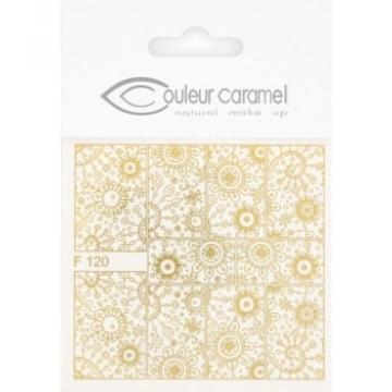 Décalcomanies ongles modèle 3 - Couleur Caramel