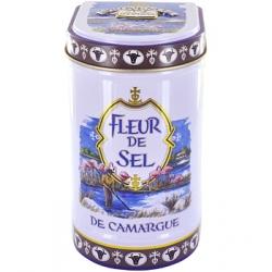 Fleur de sel de Camargue boite métal 125g