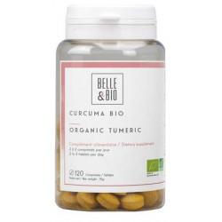 Curcuma piperine Bio 120 comprimés - Belle et Bio