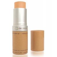 Fond de teint compact 14 beige halé - Couleur Caramel, maquillage bio aromatic provence