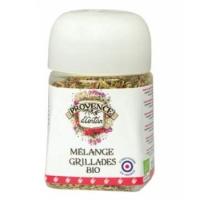 Mélange Grillade bio pot végétal biodégradable 30 gr - Provence d'Antan - Aromatic Provence
