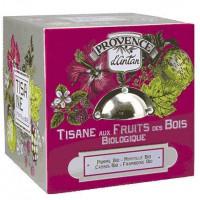 Tisane Festive Cube Fruits des bois 24 sachets boite métal - Provence d'Antan
