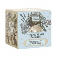 Tisane Be Cube Hiver bio 24 sachets boite métal - Provence d'Antan - Aromatic Provence
