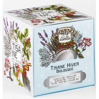 Tisane Be Cube Hiver bio 24 sachets recharge carton - Provence d'Antan - Aromatic Provence