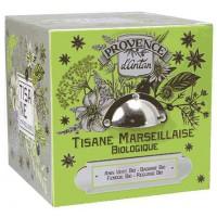 Tisane Marseillaise bio Coffret, marque Provence d'Antan, Aromatic Provence