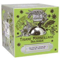 Tisane Marseillaise bio Coffret metal 60 gr - Provence d'Antan