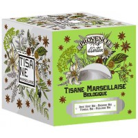 Tisane Marseillaise bio Recharge 24 sachets 60gr - Provence d'Antan, marque Aromatic Provence