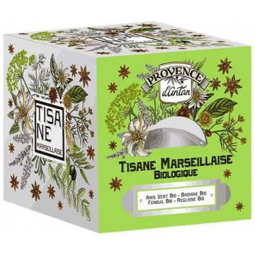 Tisane Marseillaise bio Recharge 24 sachets 60gr - Provence d'Antan