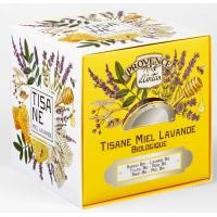 Tisane Be Cube Miel Lavande bio 24 sachets recharge carton - Provence d'Antan - Aromatic Provence