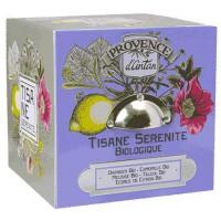 Tisane Be Cube Sérénité bio 24 sachets boite métal - Provence d'Antan - Aromatic Provence