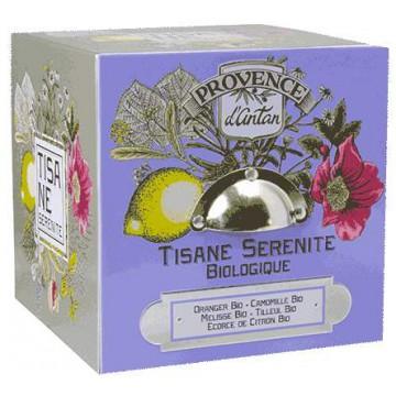 Tisane Be Cube Sérénité bio 24 sachets boite métal - Provence d'Antan