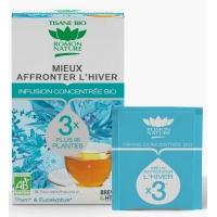 Tisane concentrée Mieux affronter l'hiver Bio 20 sachets - Romon Nature - Aromatic provence