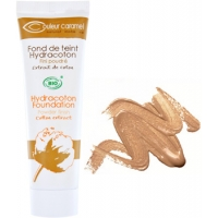 Fond de teint Hydracoton 16 Miel fini poudré 30ml - Couleur Caramel - maquillage minéral