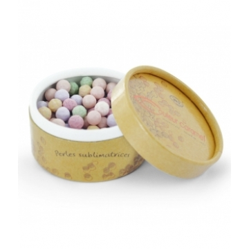 Perles sublimatrices N°241 Arc en ciel - Couleur Caramel