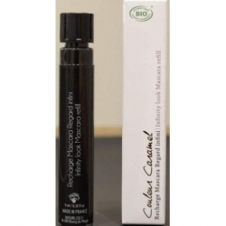 Recharge Mascara Regard infini n°01 bio noir 9ml - Couleur Caramel