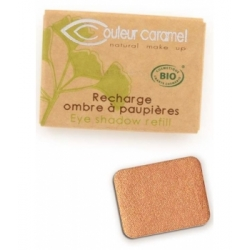 Recharge Ombre à paupières n°007 Or cuivré nacré 1.3g - Couleur Caramel