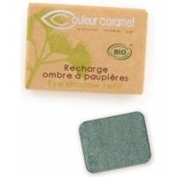 Recharge Ombre à paupières n°050 vert bleuté nacré 1.3g - Couleur Caramel