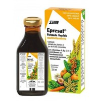 Epresat 250ml Vitamines A, B, C, D, et E, Marque Salus, multivitamines à base de plantes