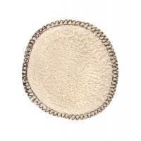 Lot 12 lingettes à démaquiller en coton bio - Lulu Nature maquillage bio aromatic provence