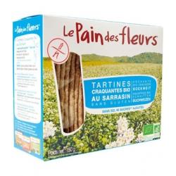 Tartines craquantes au Sarrasin sans sel ni saccharose ajoutés 150 gr - Le Pain des Fleurs