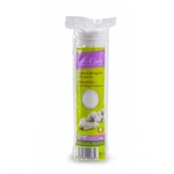 Disques à démaquiller 100% coton bio 80 unités - Silvercare