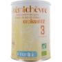 Lait prémichèvre croissance 3 sans gluten 12 à 36 mois 900 g - Prémibio