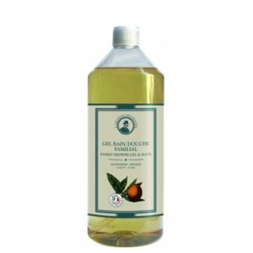 Gel bain douche familial Mandarine Orange 1 L - L'Artisan Savonnier
